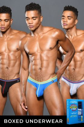 Andrew Christian Almost Naked Superhero Boy Brief 3 Pack