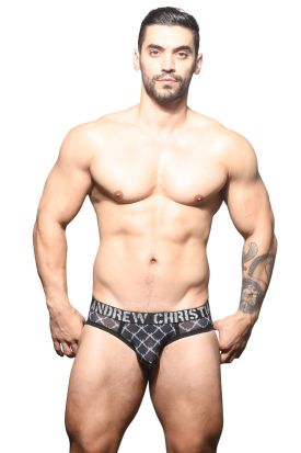 Andrew Christian Almost Naked Barbed Wire Sheer Brief