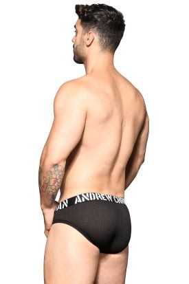 Andrew Christian Almost Naked Rebel Mesh Brief