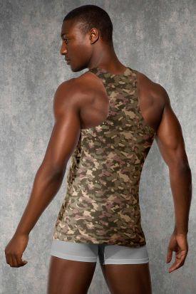 Doreanse 2215 Camouflage Tank Top