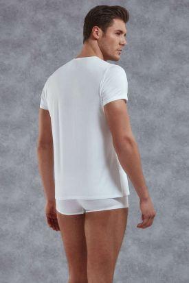 Doreanse 2565 Premium Micromodal Button Front T-Shirt
