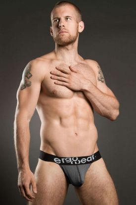 Ergowear Max Mesh Bikini Brief Grey/Black