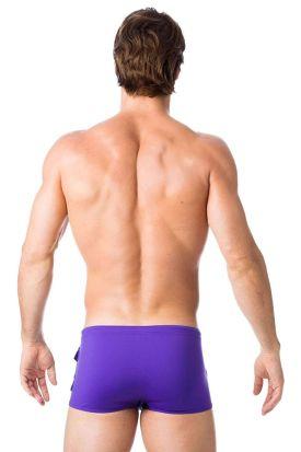 Gregg Homme Magnetic Swim Trunk Purple