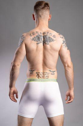 HOM Athletics Long Boxer Brief White
