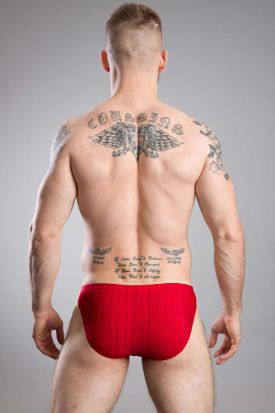 HOM Chic Comfort Micro Briefs Red