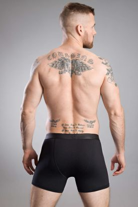 HOM Classic Boxer Briefs with buttons Black
