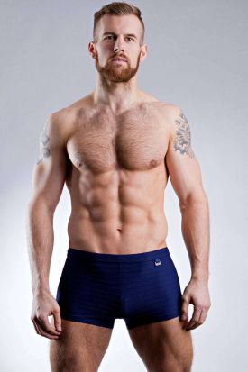 HOM Feuillage Swim Shorts