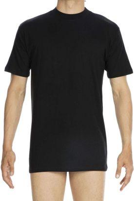 HOM Harro Crew Neck T-shirt Black
