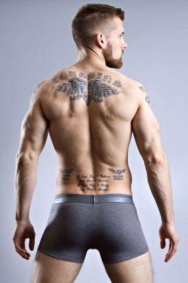 HOM HO1 Boxer Brief Grey Melange