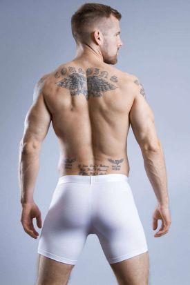 HOM HO1 Long Boxer Briefs White