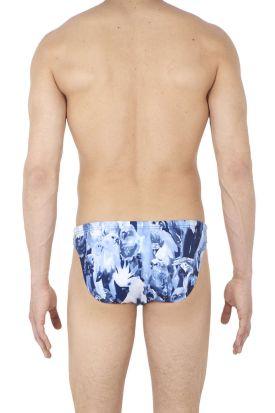 HOM Papagayo Swim Micro Briefs Blue
