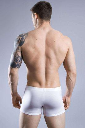 HOM Premium Cotton Comfort Boxer Brief White