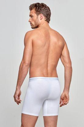 Impetus Cotton Stretch Long Boxer 2056021 White