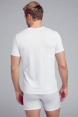 Jockey 3D-Innovations Crew Neck T-Shirt 2 PACK White