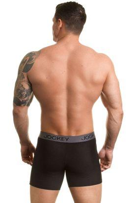 Jockey 3D-Innovations Boxer Trunk 2 PACK Black