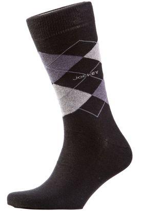 Jockey Argyle Casual Sock Grey