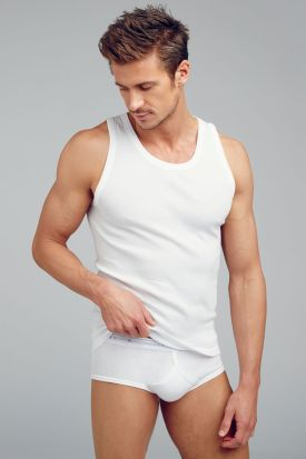Jockey Classic 2100 100% Cotton White Vest (3 pack)