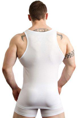 Jockey Cotton + A-Shirt 2 pack White