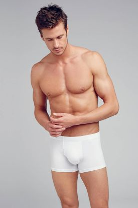 Jockey Cotton + Trunk 3 pack White