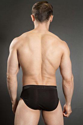 Jockey Premium Cotton Stretch Brief-Black