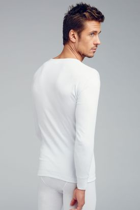 Jockey Spurt 100% Cotton Long Sleeved Undershirt