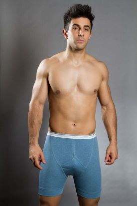 Jockey Spurt 100% Cotton Y-Front Midway Boxer
