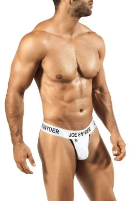 Joe Snyder Shining Active Wear V Thong 04 White