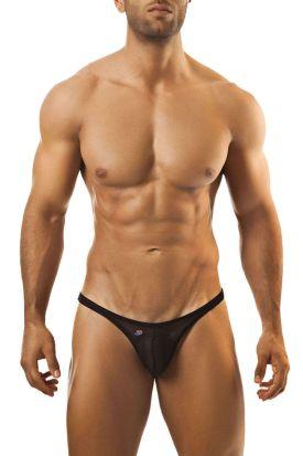 Joe Snyder Shining 07 Bikini Capri (Sheer Mesh) Black