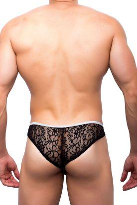 Joe Snyder SK 04 Mini Cheek Black Lace
