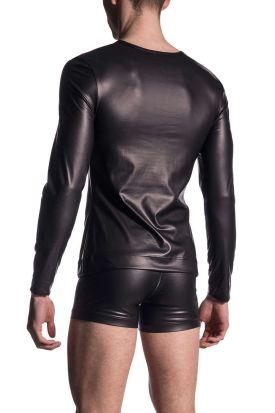 Manstore M510 Zipped Shirt Black