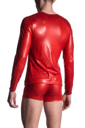 Manstore M510 Zipped Shirt Tabasco