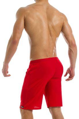 Modus Vivendi Active Short Sweat Shorts Red