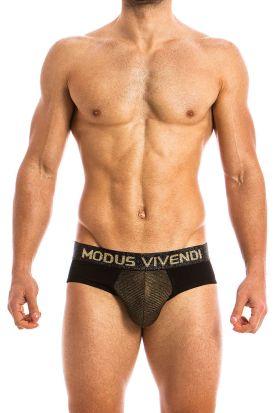 Modus Vivendi Festive Classic Brief Gold