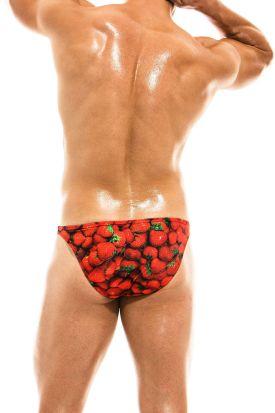 Modus Vivendi Fruits Swim Low Cut Brief Strawberry