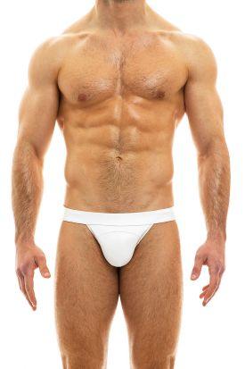Modus Vivendi Leather Line Jockstrap White