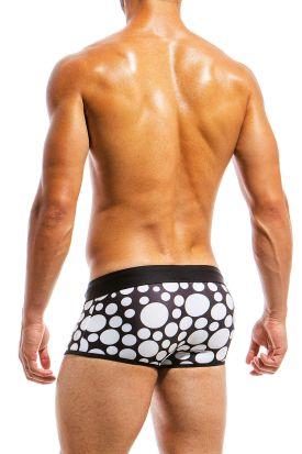 Modus Vivendi Polkadot Swim Brazil Cut Boxer Black