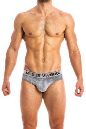 Modus Vivendi X-Lux Bottomless Brief Grey