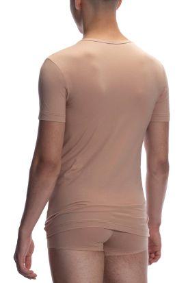 Olaf Benz RED 1601 V-neck Regular T-shirt Skin