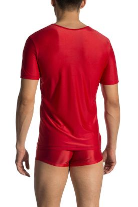 Olaf Benz RED 1770 Low V-Neck T-shirt red
