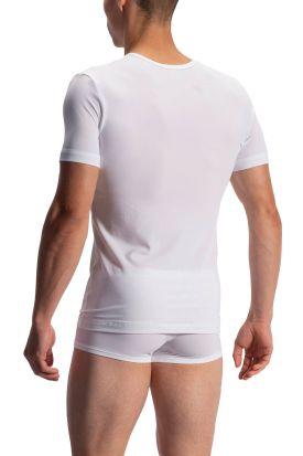 Olaf Benz RED 1950 V-Neck T-Shirt White