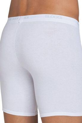 Sloggi Basic Long Boxer White