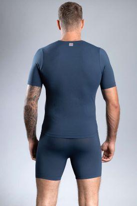 Sloggi mOve FLEX V-Neck T-shirt Blue