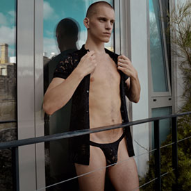 MALE LINGERIE UNVEILED